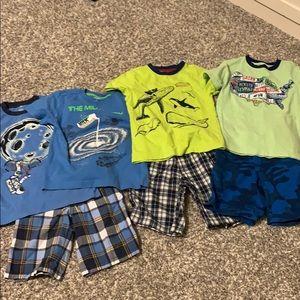 Boys size 6 Gymboree shorts lot